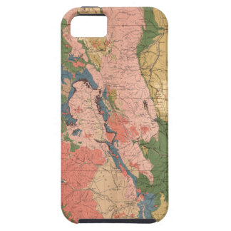 Colorado Geological Map iPhone SE/5/5s Case