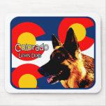 Colorado German Shepherd Mouse Pads