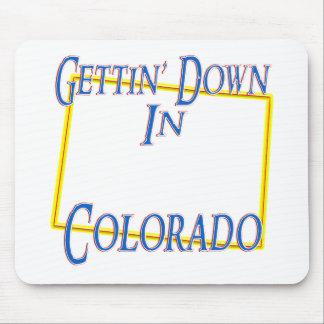 Colorado - Getting abajo Alfombrillas De Ratón