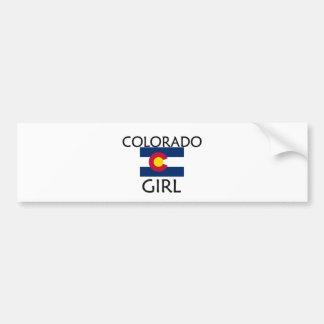 COLORADO GIRL CAR BUMPER STICKER