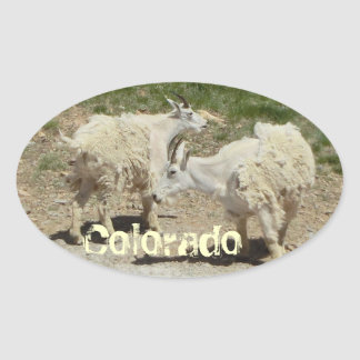 Colorado goat sticker
