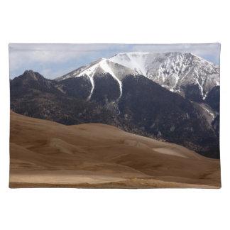 Colorado Great Sand Dunes National Park Souvenir Cloth Placemat