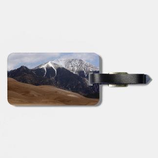 Colorado Great Sand Dunes National Park Souvenir Luggage Tag