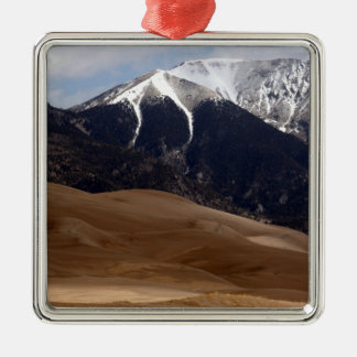 Colorado Great Sand Dunes National Park Souvenir Metal Ornament