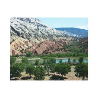 Colorado Green River Canvas Print
