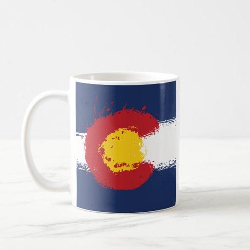 Colorado Grunge Flag Mug