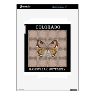 Colorado Hairstreak Butterfly Decal For The iPad 2