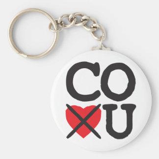 Colorado Hates You Keychains