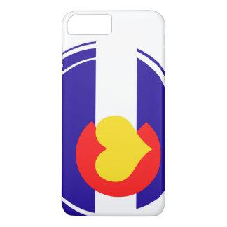 Colorado Heart Flag iPhone 7 Plus Case
