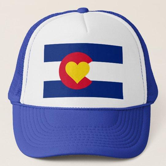 ... promo code for colorado heart flag trucker hat f46f6 50db6 6ca46a210