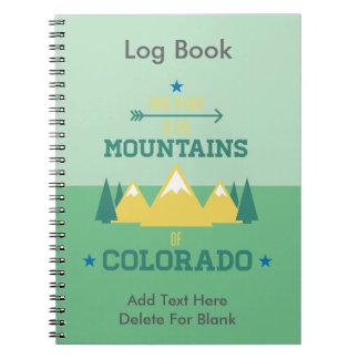 Colorado Hiking Notebook
