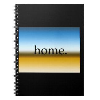 Colorado Home Horizon Spiral Note Book