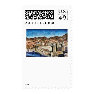 Colorado - Hoover Dam Postage Stamp