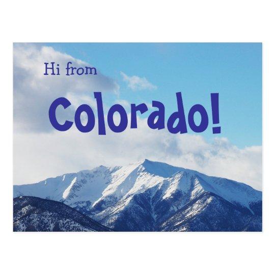 Colorado! II Postcard
