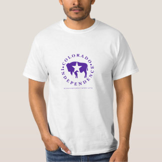 Colorado Independence Iconic BIson (M/F styles) T-Shirt