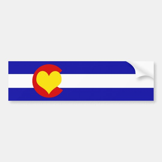 Colorado is for Lovers Bumper Sticker