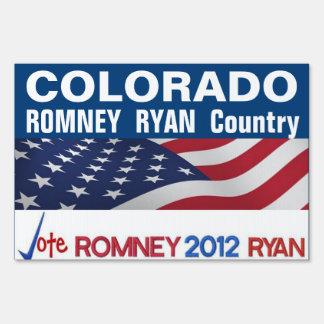 COLORADO is Romney Ryan Country Sign