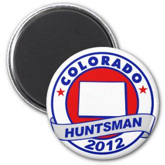 Colorado Jon Huntsman 2 Inch Round Magnet