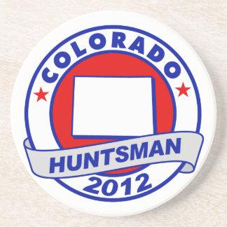 Colorado Jon Huntsman Beverage Coasters