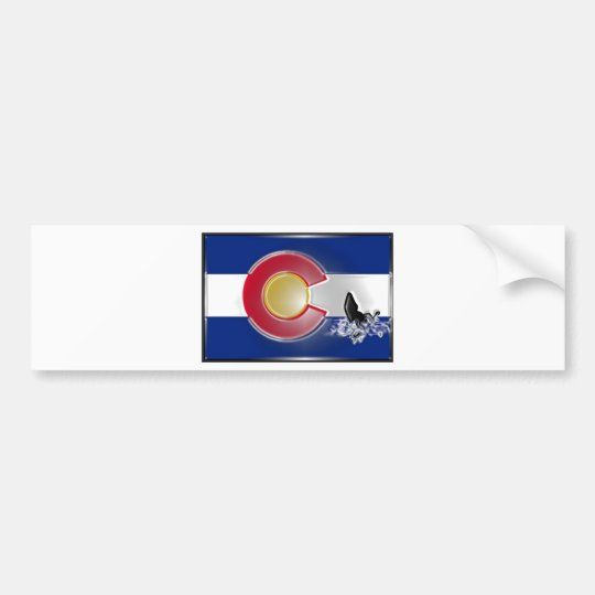 Colorado Kayak Bumper Sticker
