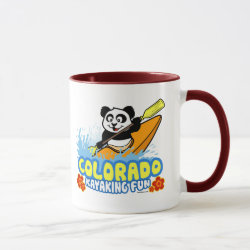 Combo Mug with Colorado Kayaking Fun design