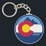 "Colorado Keychain<br><div class=""desc"">Colorado Keychain other Colorado gifts available at Not 2B Taken Serious on Zazzle.</div>"
