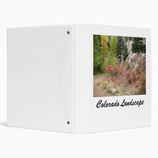 Colorado Landscape Works Binder