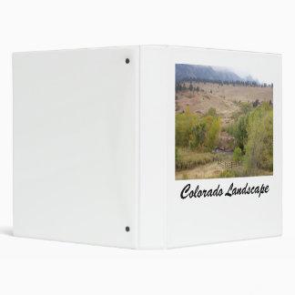 Colorado Landscape Works Vinyl Binder