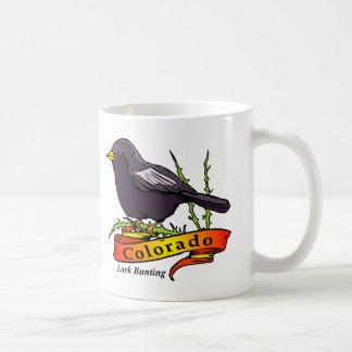 Colorado Lark Bunting Coffee Mug