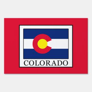 Colorado Lawn Sign
