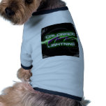 Colorado Lightning Football Merchandise Doggie Shirt