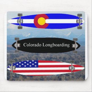 Colorado Longboarding Alfombrillas De Ratones