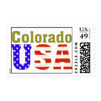 ¡Colorado los E.E.U.U.! Sellos