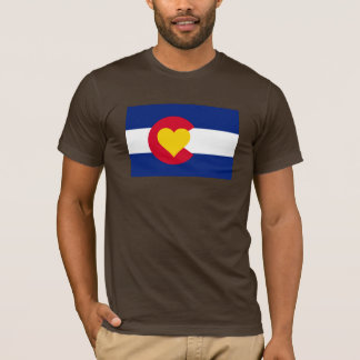 Colorado Love Flag t-shirt