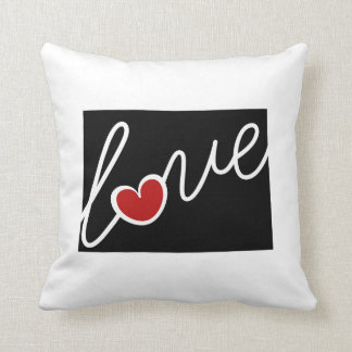 Colorado Love!  Gifts for CO Lovers Pillows