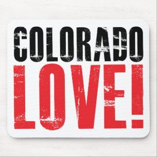 Colorado Love Mouse Pad