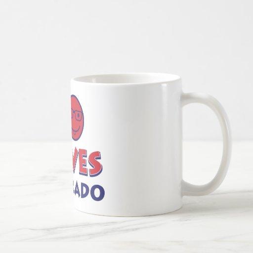 colorado lover design coffee mug