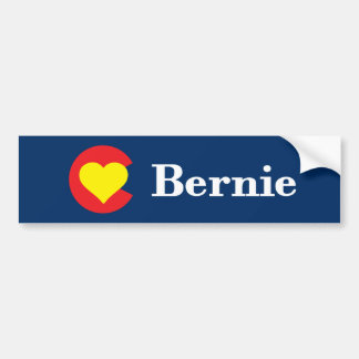 Colorado loves Bernie Sanders Bumper Sticker