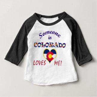 Colorado Loves Me Heart Flag Shirt