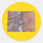 Colorado Map Sticker