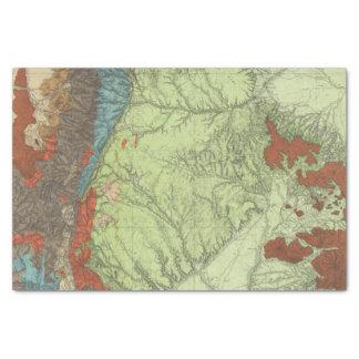 Colorado meridional 2 papel de seda pequeño
