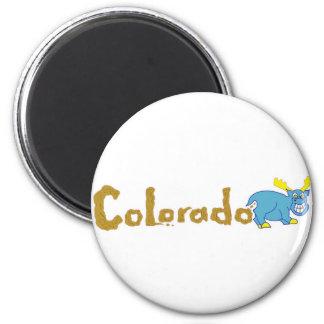 Colorado Mooser Magnet