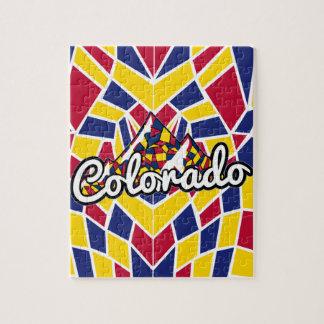 Colorado Mosaic Jigsaw Puzzle