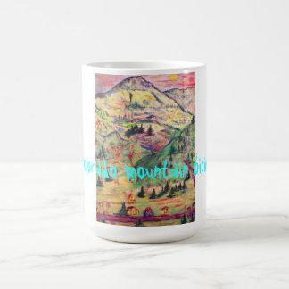 colorado mountain biking coffee mug