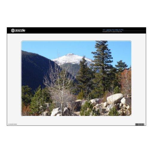 Colorado mountain decal for laptop