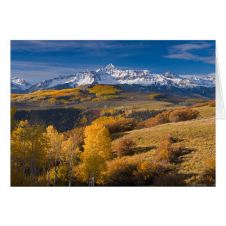 Colorado Mountain Fall Sunrise Card