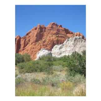 Colorado mountain custom letterhead