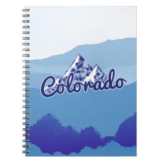 Colorado Mountain Notebook