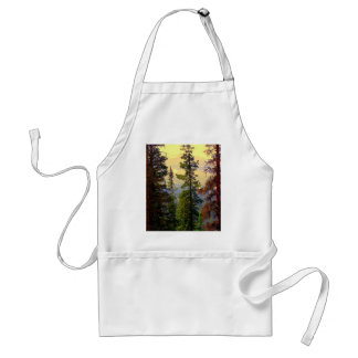 Colorado Mountain Pines Adult Apron