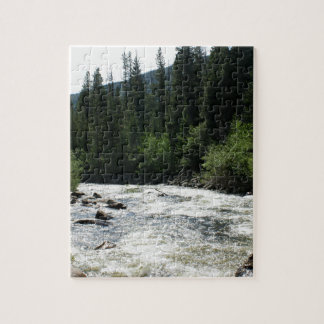 Colorado Mountain River Jigsaw Puzzle